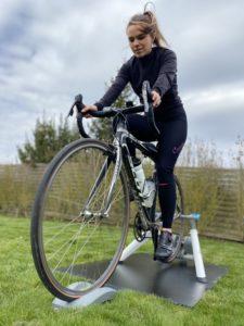 Lara roelandt entrainement vélo